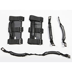 Grab Handle Kit, 5 Piece, Jeep Wrangler JK JL