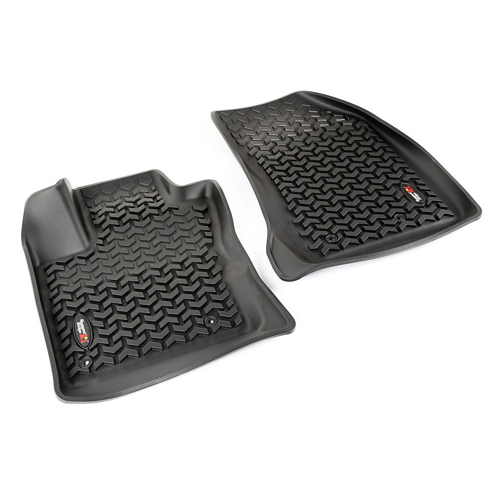 Front Floor Liner Set, Black, 15-17 Jeep Renegade