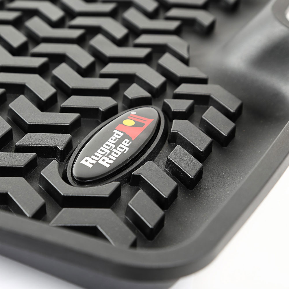 Rear Floor Liner, Black, 15-17 Jeep Renegade