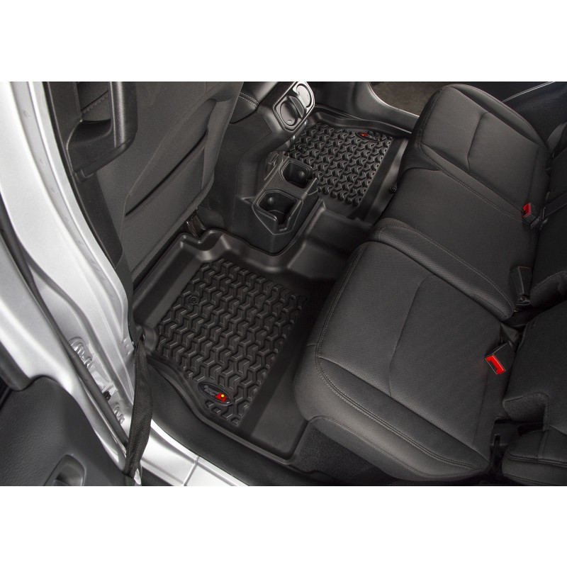 Jeep Wrangler JL Floor Liners Kit 4 Doors 3 Piece Kit