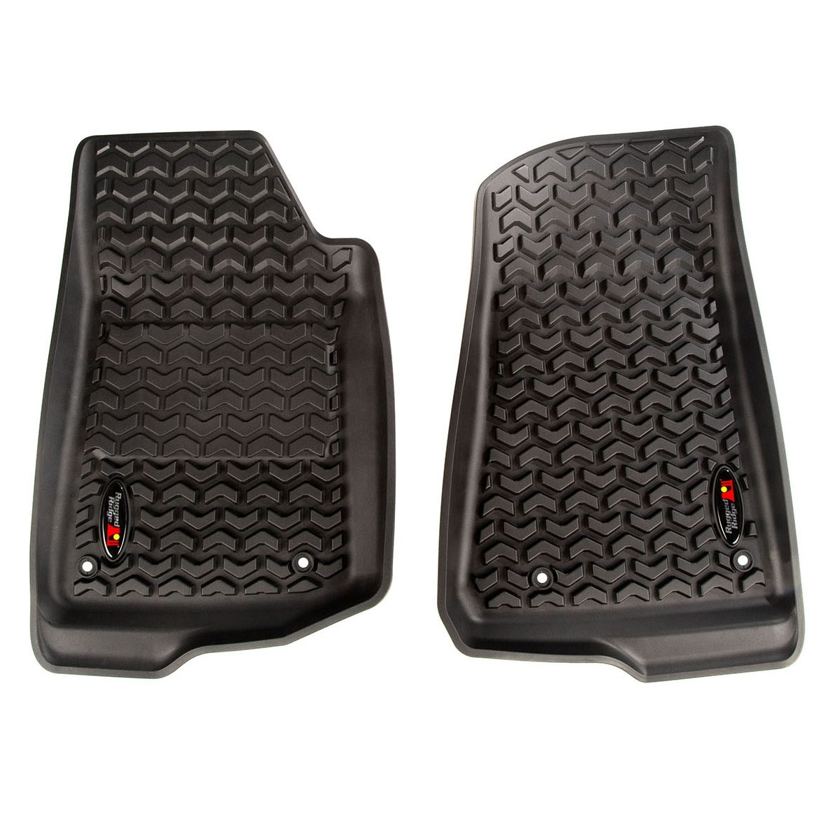 Jeep Wrangler JL Floor Liners Kit 2 Doors 4 Piece Kit