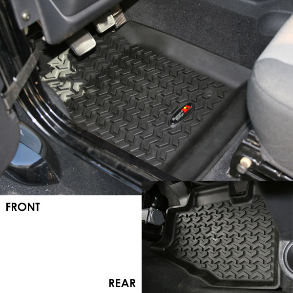 All Terrain Floor Liner Kit 97-06 Wranglers