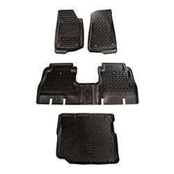 Jeep Wrangler JL Floor Liners Kit 4 Doors 4 Piece Kit
