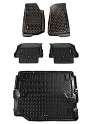 Jeep Wrangler JL Floor Liners Kit 2 Door Full Cargo
