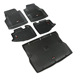 All Terrain Floor Liner Kit, 5 Pieces, 97-06 Jeep Wranglers