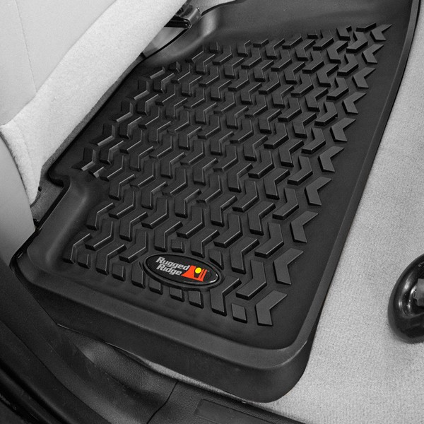 All Terrain Floor Liner Kit, Black, 99-04 Grand Cherokee WJ