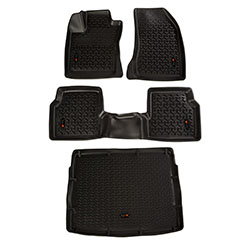 2018 Jeep Compass MP Floor Liner Kit, Front Rear Cargo