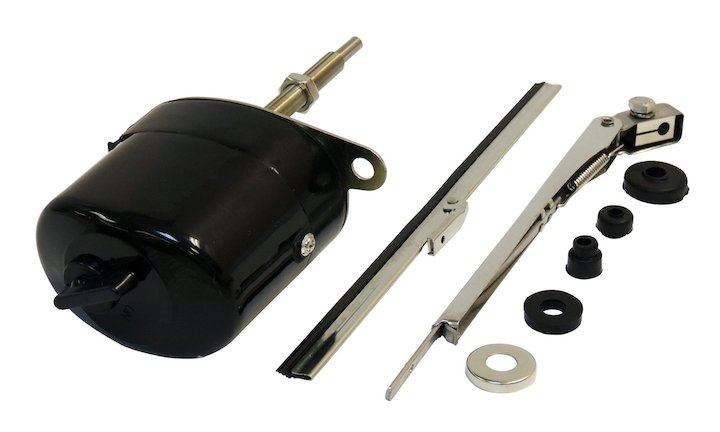 Wiper Motor Kit, Early CJ