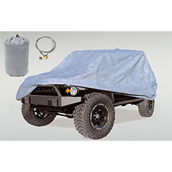 Three Layer Full Cover with Bag Lock Jeep Wranglers JK JL 2 Dr