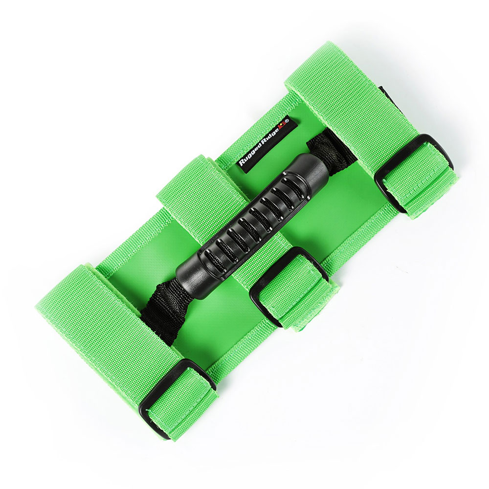 Ultimate Grab Handle Pair, Green, CJ YJ TJ JK