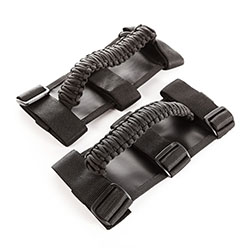 Paracord Grab Handles, Black