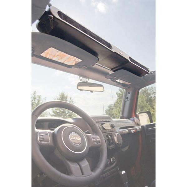 Overhead Storage Console, Jeep Wranglers