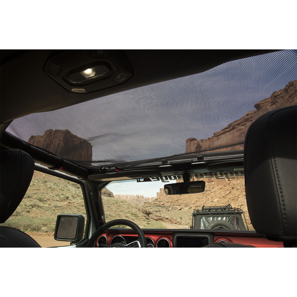 Jeep Wrangler JL Eclipse Sun Shade, Hard Top
