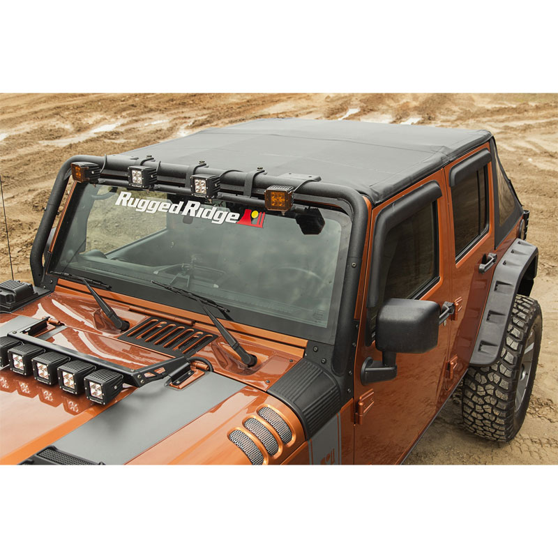07-17 Wranglers JK Unlimited Bowless Montana Soft Top