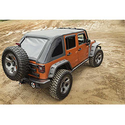 2007-18 Jeep Wranglers JK Unlimited Bowless Montana Soft Top