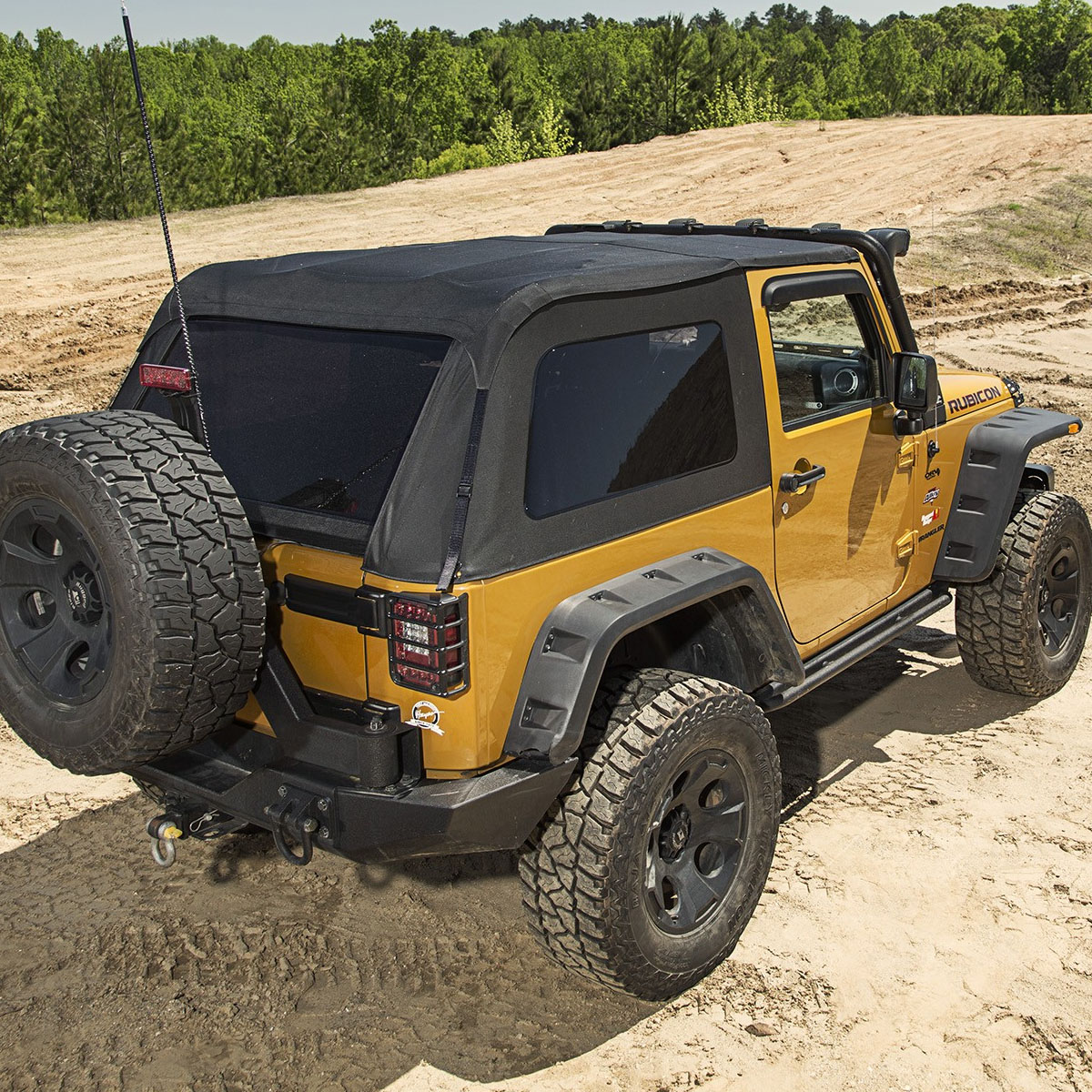 Jeep Wranglers JK Bowless Montana Soft Top