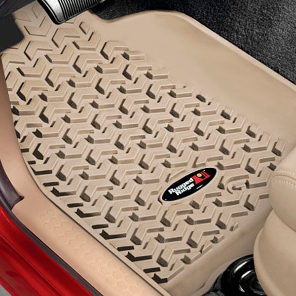 All Terrain Floor Liner Kit, Tan, 2011 Grand Cherokee WK