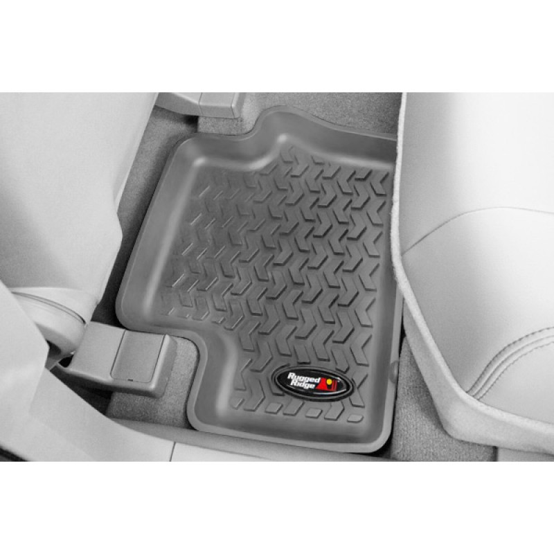 Floor Liners Kit, Gray, 4 Pieces, 07-17 Compass Patriot