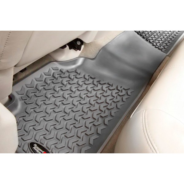 All Terrain Floor Liner Kit, Gray, 05-10 Grand Cherokee WK