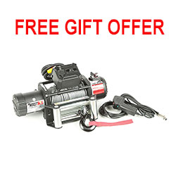 FREE GIFT OFFER - 12500 LBS Nautic Waterproof Winch