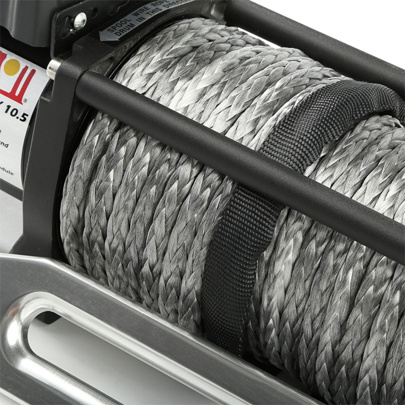 10500 lbs Spartacus Performance Winch with Synthetic Rope