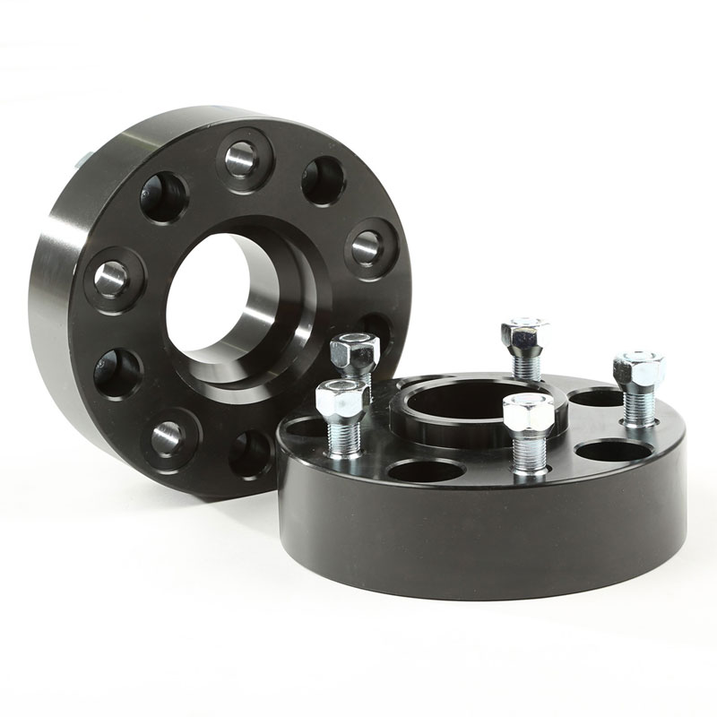 1.75 inch Wheel Spacers, Black, 05-10 Grand Cherokee