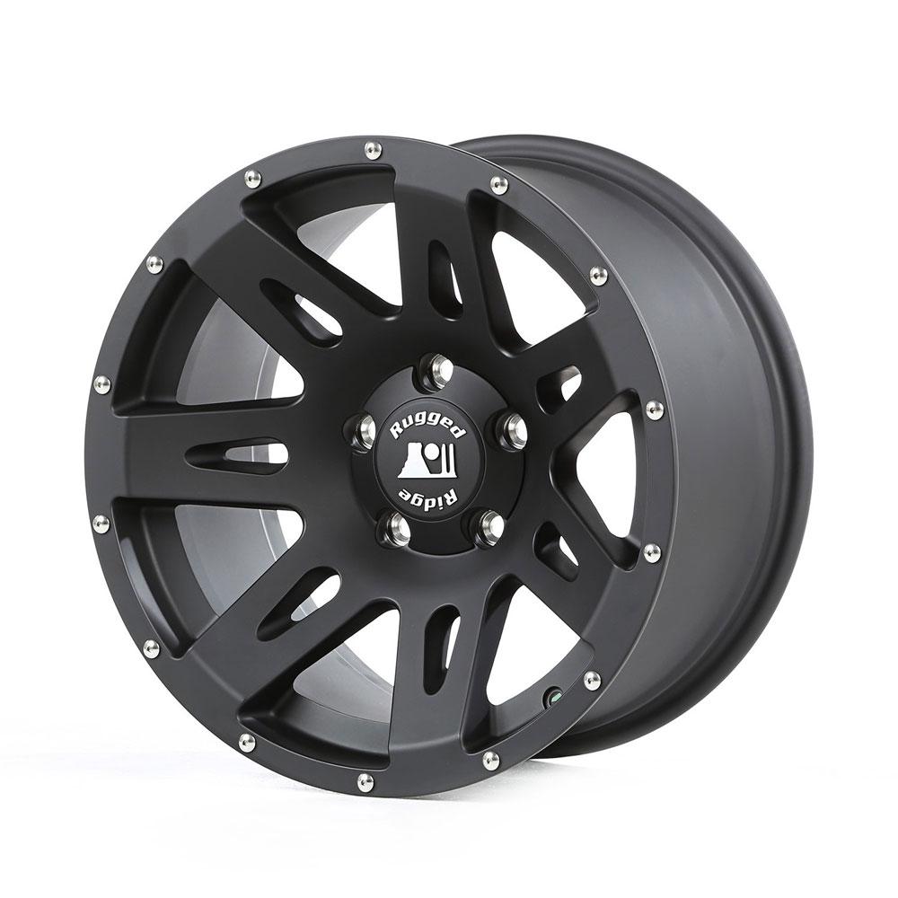 17 X 8 5 Wrangler Aluminum Wheel Rugged Ridge 15301 60