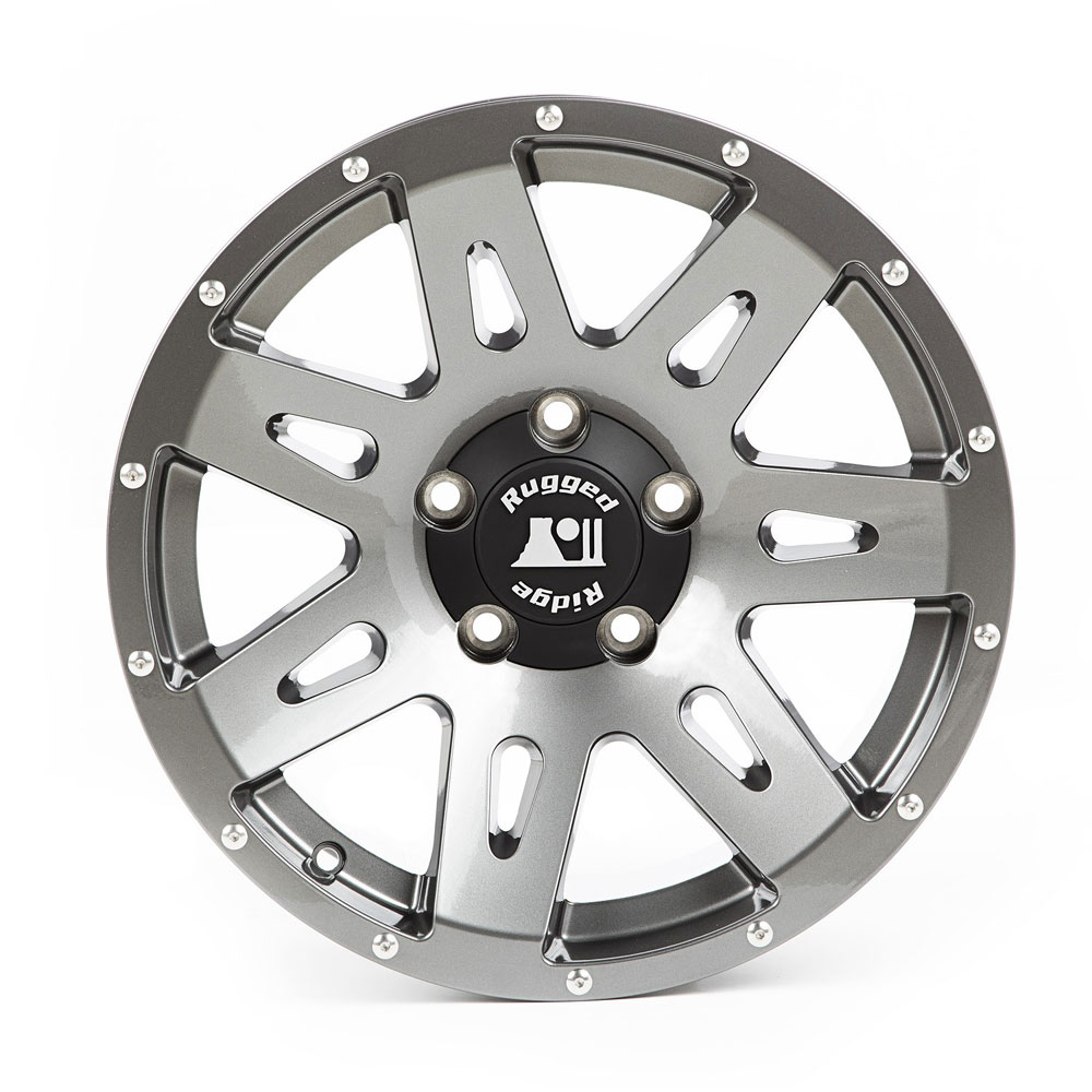 17x8.5 XHD Aluminum Wheel, Gun Metal