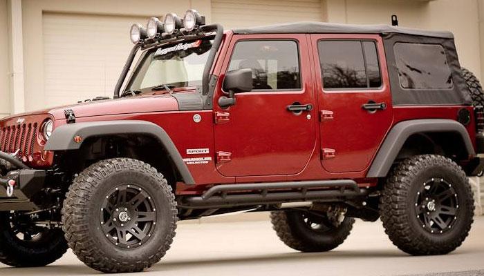 2007 2017 Jeep Wranglers Jk Wheels