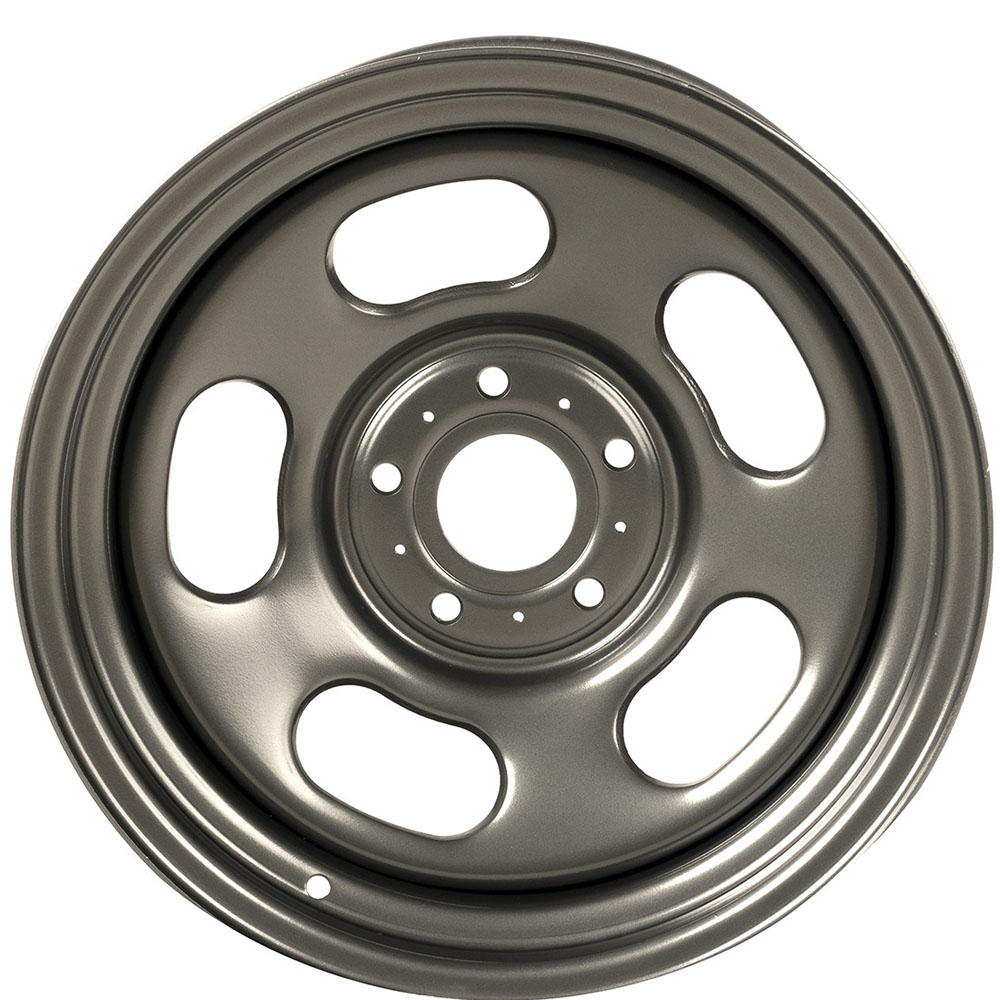 17x9 Jeep JK Wrangler Steel Gun Metal Wheel
