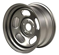 17x9 Jeep JK Wrangler Steel Gun Metal Wheel