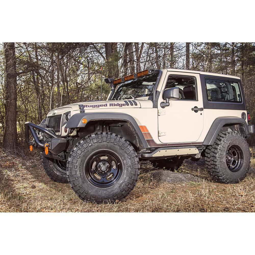 Jeep Jk Tires >> 15500.78 - 17x9 Trail Runner Classic Steel Wheel with Center Cap, 07-16 Wranglers JK