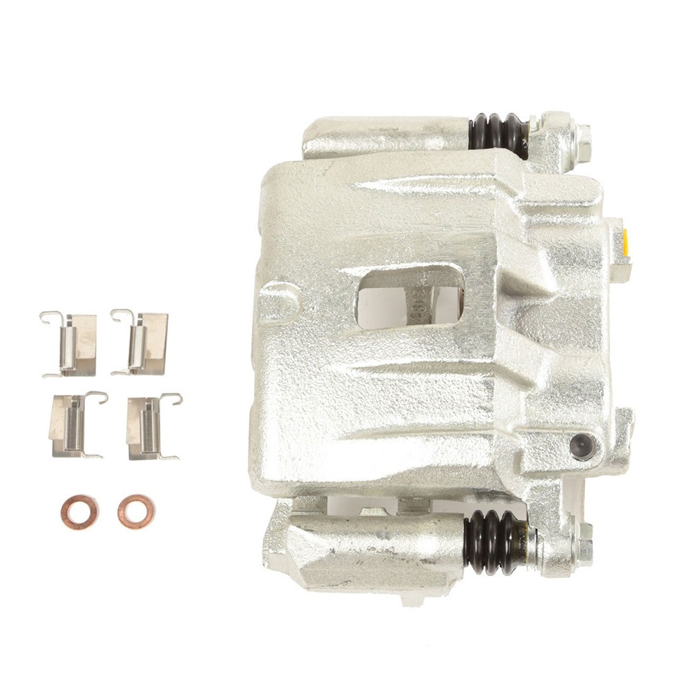 Brake Caliper, Front Right, AKEBONO, 99-02 Grand Cherokee WJ