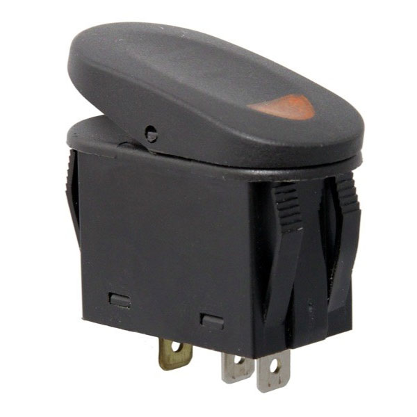 A-Pillar Switch Pod Kit with Amber Switches 07-10 Wranglers
