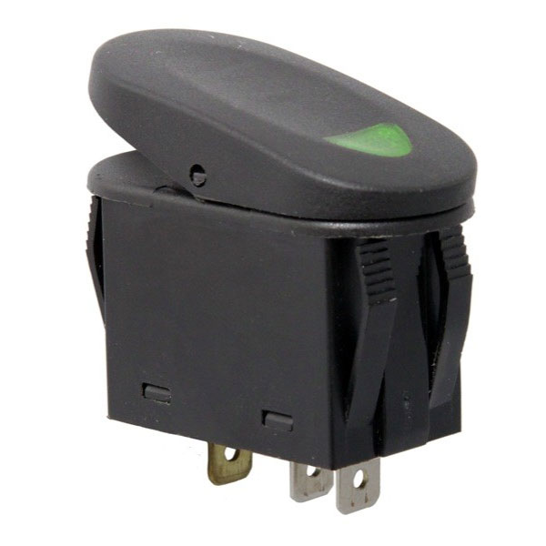 A-Pillar Switch Pod with 4 Switches, Left, 11-17 Wranglers JK