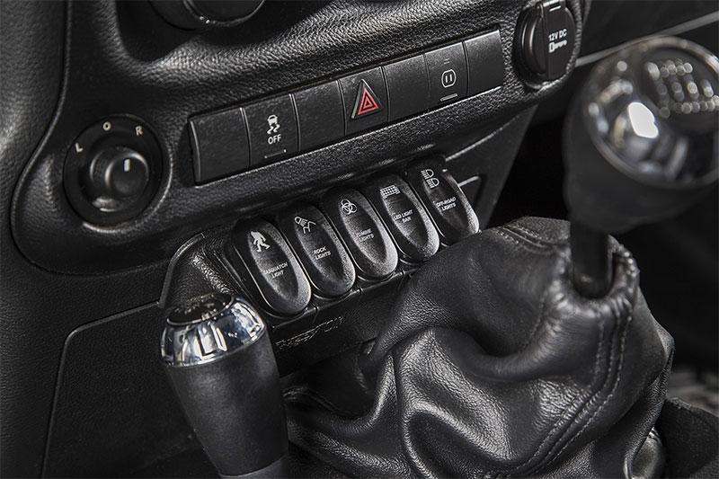 Rugged Ridge 17235 73 Wrangler Jk Switch Panel