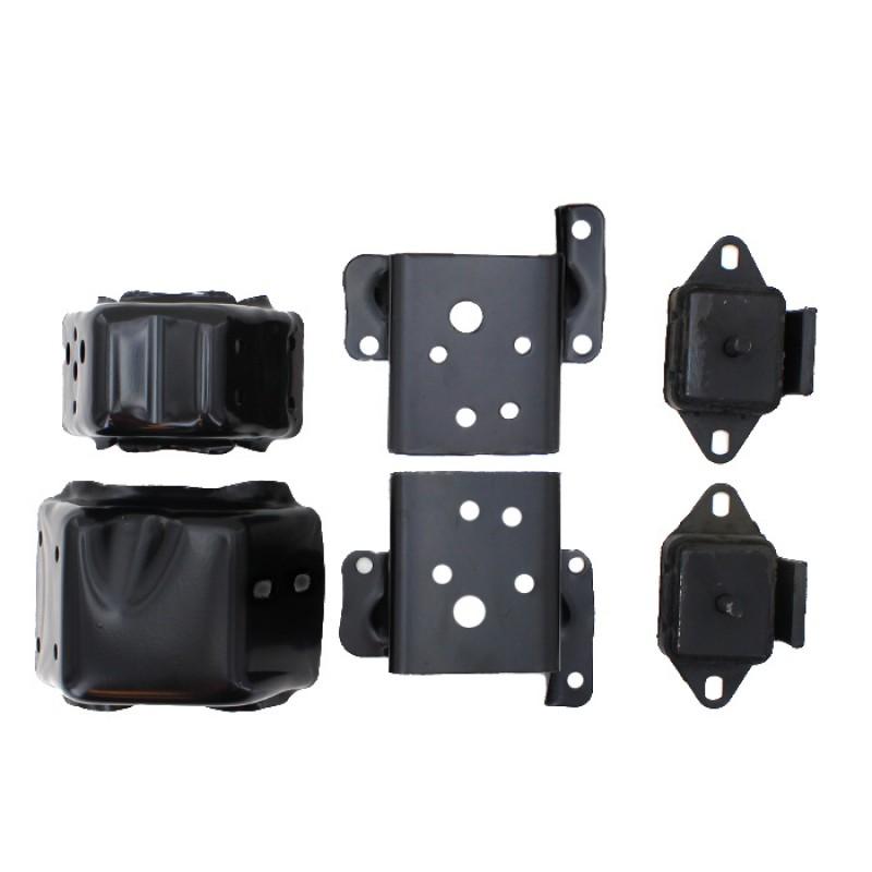 jeep cj engine mount bracket kit, v8 engine