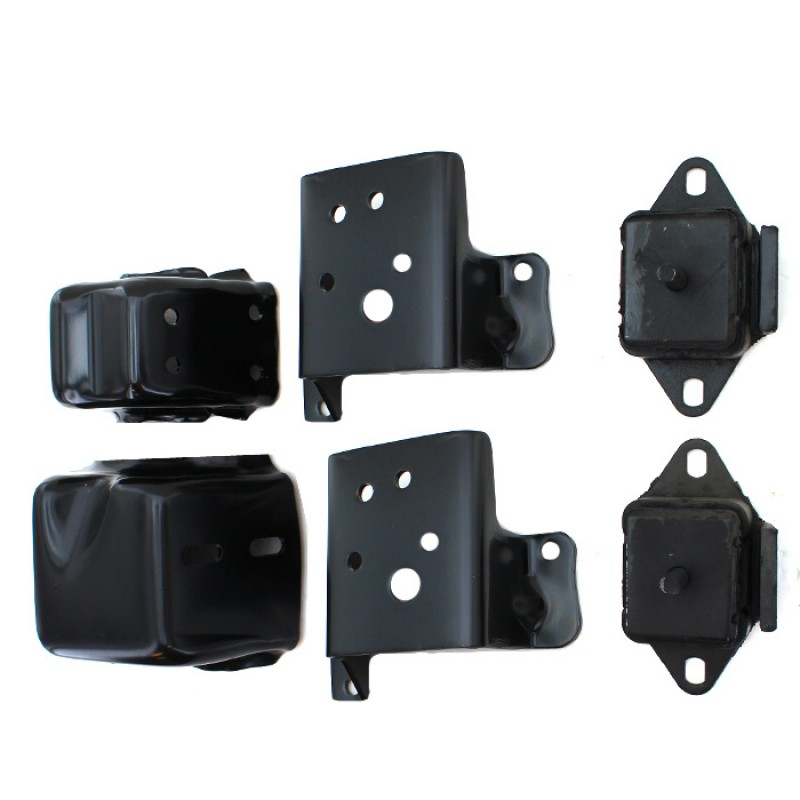 Jeep cj5 cj7 engine mount bracket kit for Jeep motor mount bracket