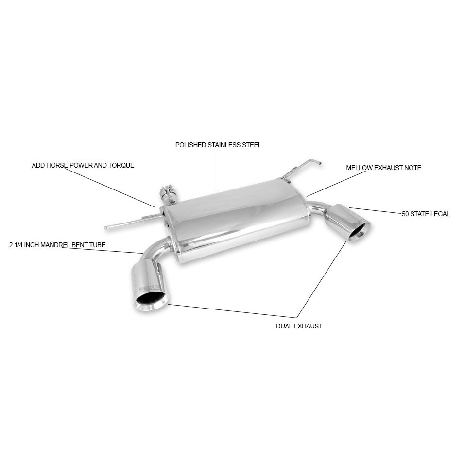 Jeep Wrangler JK Cat-Back Exhaust System