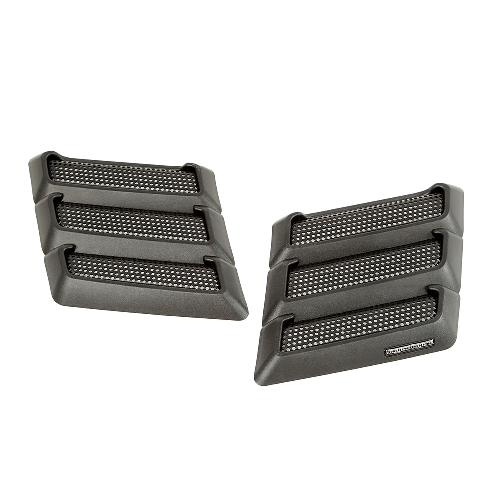 1997-18 Jeep Wrangler Performance Hood Vents