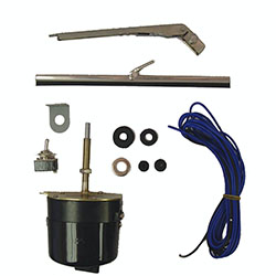 1941-68 Jeep 12 Volts Wiper Motor Kit