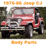 Jeep CJ Body Parts 1976-86