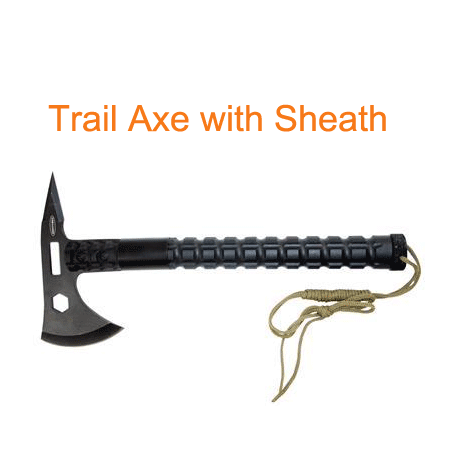 Trail Axe with Sheath