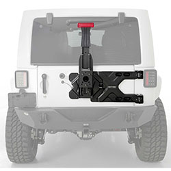 Smittybilt Heavy-Duty Pivot Oversize Tire Carrier