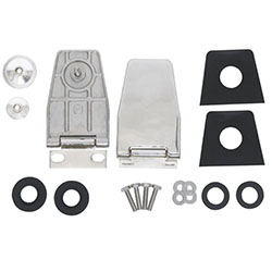 Hard Top Lift Gate Hinges, Stainless Steel, 87-06 Wranglers