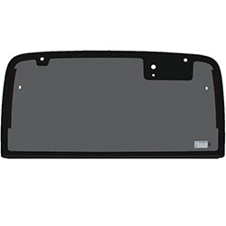 Hard Top Rear Glass, Non Heated, 50% Gray Tinted 97-02 Wranglers