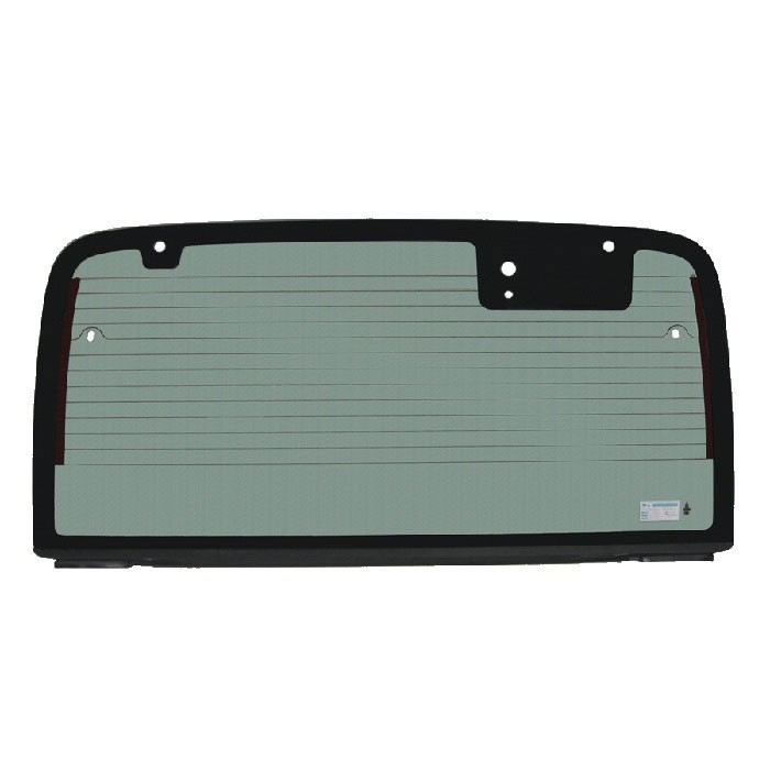 Hard Top Heated Back Glass, Factory Green Tint, 03-06 Wranglers