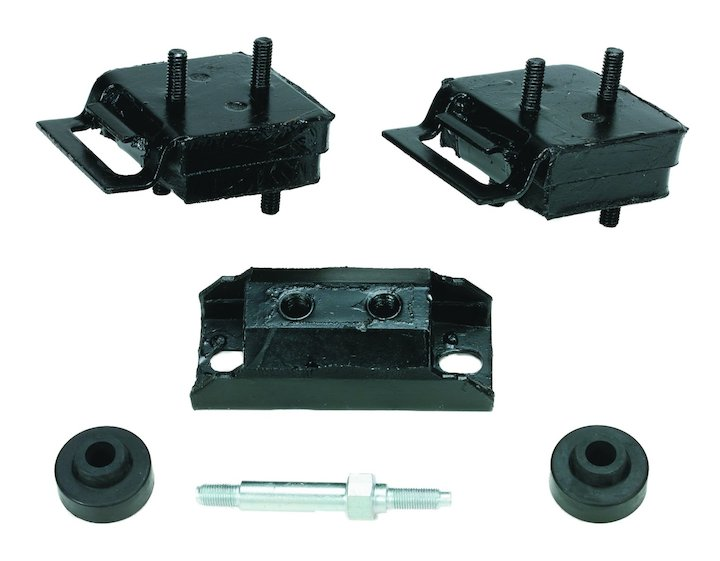 Motor Mount Kit 71-91 Jeeps with 5.0L or 5.9L
