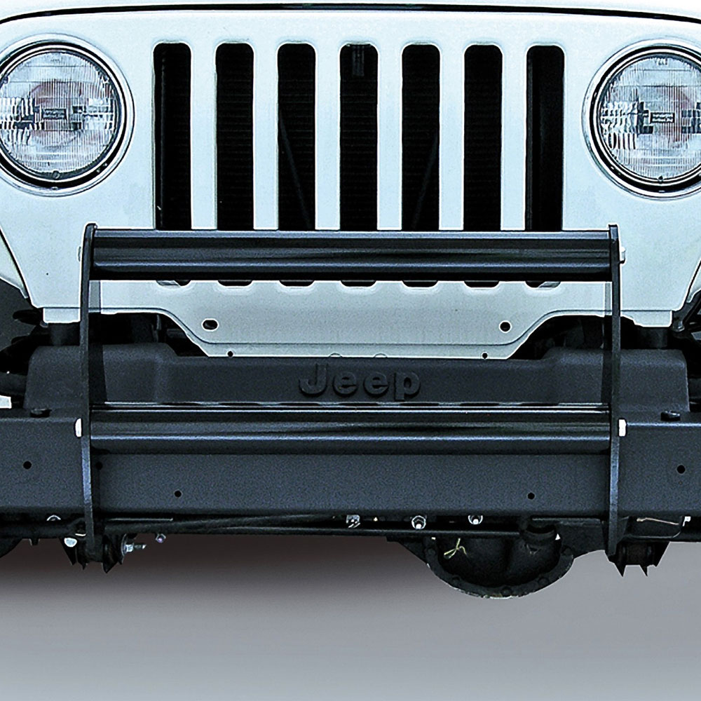 Brush Guard, Gloss Black, 97-06 Wranglers