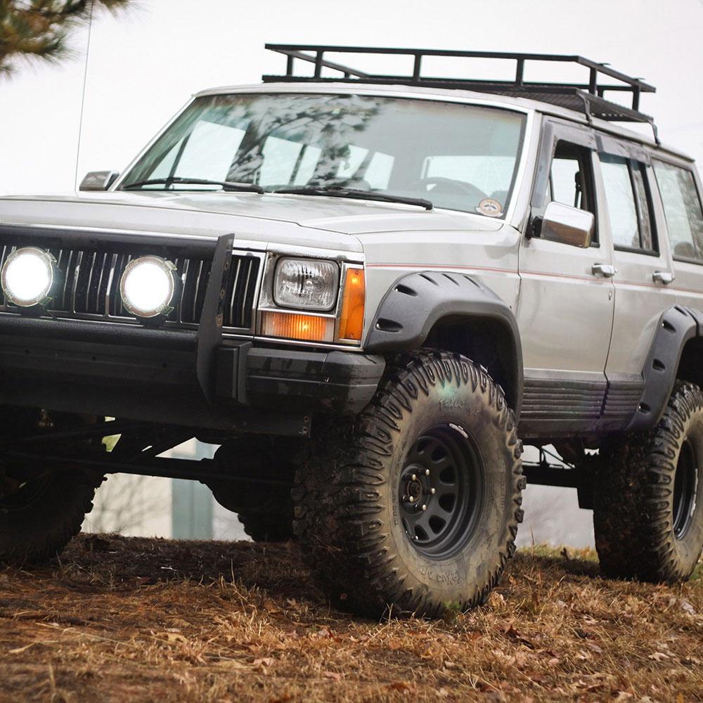 Rt 18 Jeep >> Cherokee XJ Fender Flares | Outland 391163410
